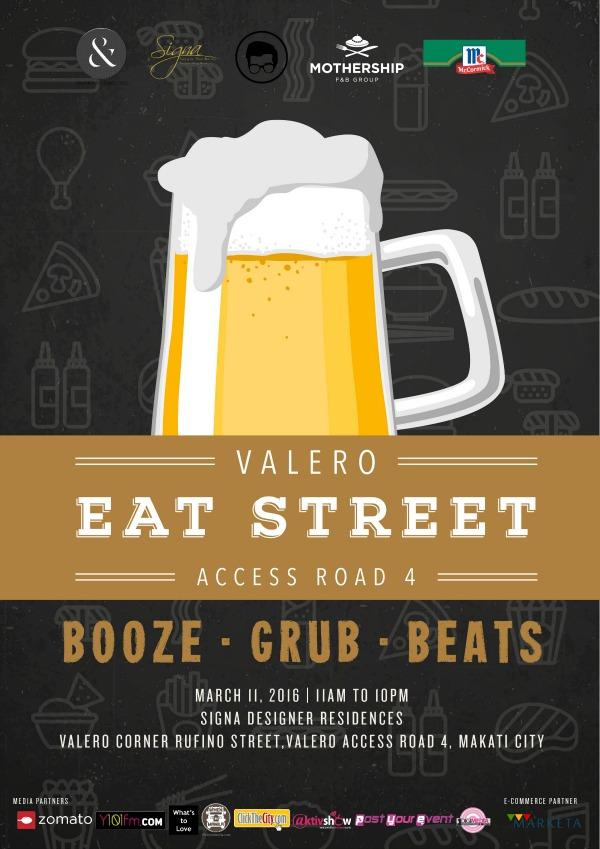 Valero Eat Street Poster