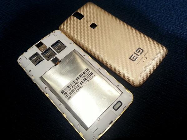 Elephone P8000 Remove Back Cover SIM slots