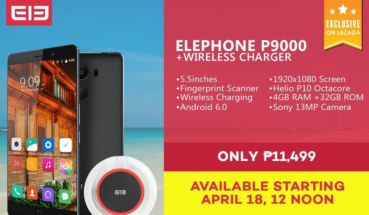 Lazada Elephone p9000
