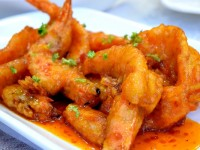 Sabreen Seafood Market Fried Shrimp with Chili Sauce