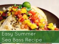 SnR Chilean Sea Bass Summer Recipe Featured Image