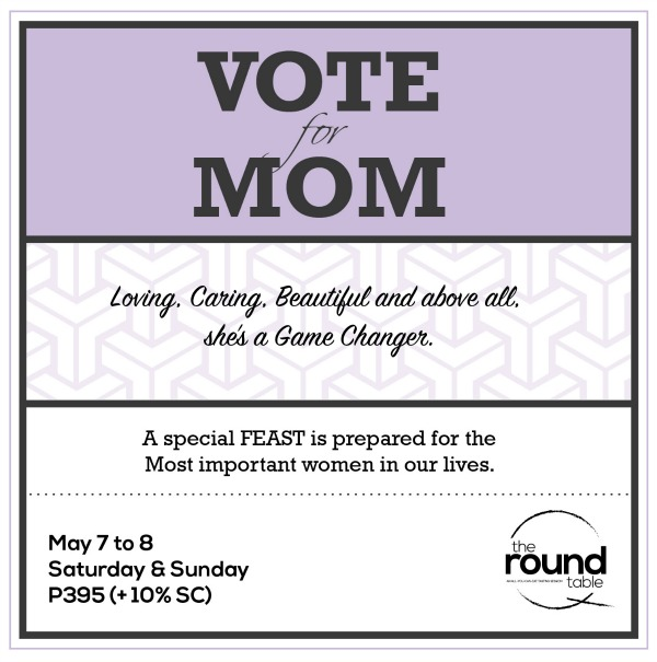 The Round Table Vote for Mom - Mother's Day Promo 2016