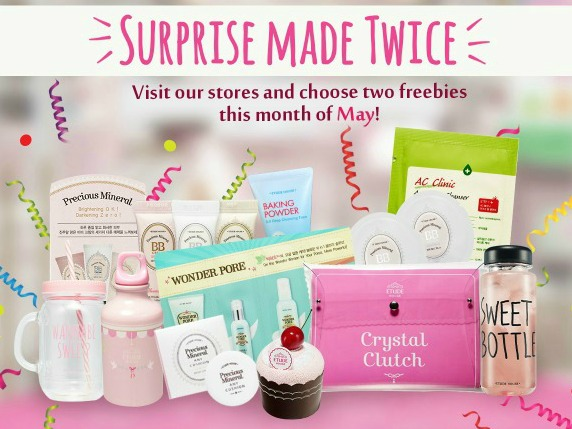 Etude House – Double the Freebies for May!