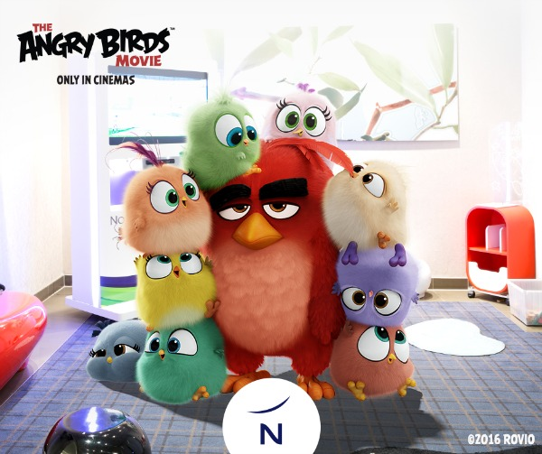 Novotel Angry Birds Movie