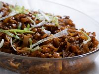 SnR Easy Beef Hofan Recipe Side View