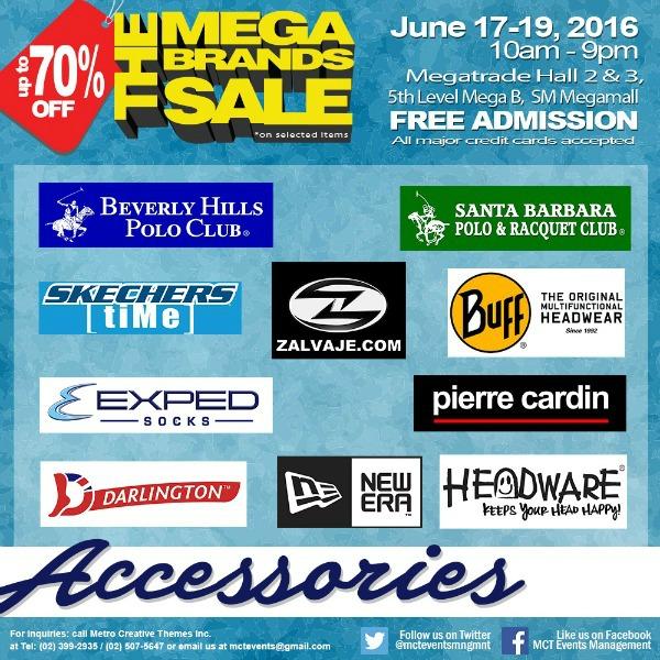 15th MegaBrands Sale Poster Accessories