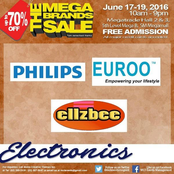 15th MegaBrands Sale Poster Electronics