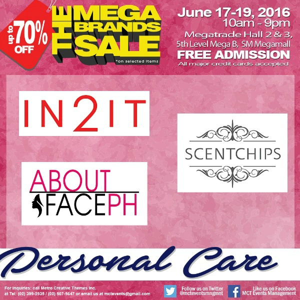 15th MegaBrands Sale Poster Personal Care