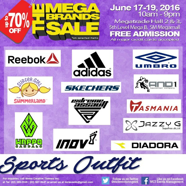 15th MegaBrands Sale Poster Sports Outfit