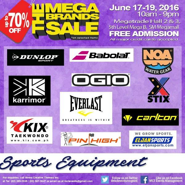 15th MegaBrands Sale Poster Sports
