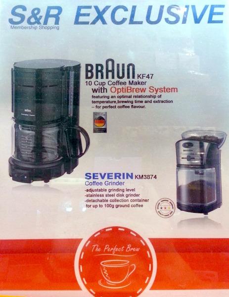 Braun Severin Grind Brew Bundle Poster