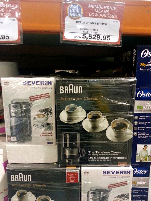 Braun Severin Grind Brew Bundle
