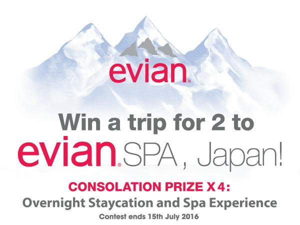 Evian Spa Promo Featured Image