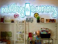 Milky n Sunny Wall