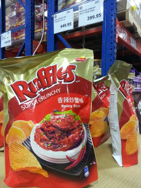 Ruffles Spicy Crab