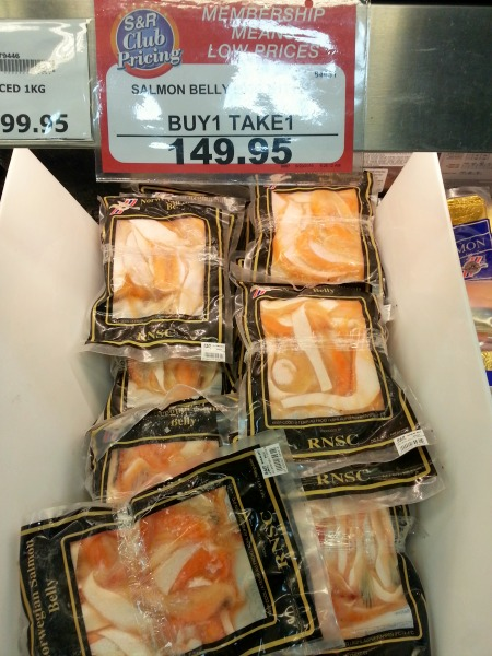 Salmon Belly Buy 1 Take 1