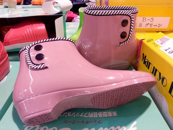 Stylish Rain Boots Pink