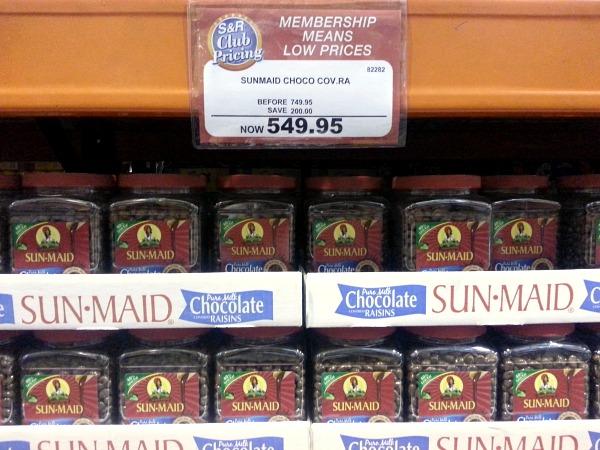 Sunmaid Choco Raisins