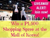 Mall of Korea Giveaway Alert