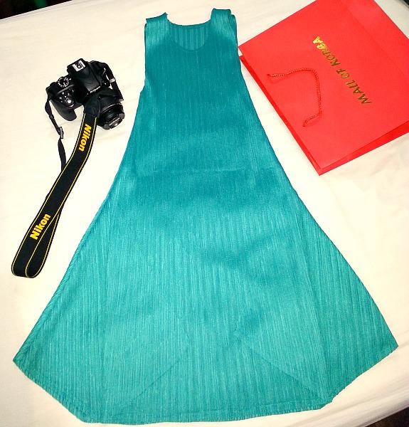 Mall of Korea Nina Lee Emerald Dress