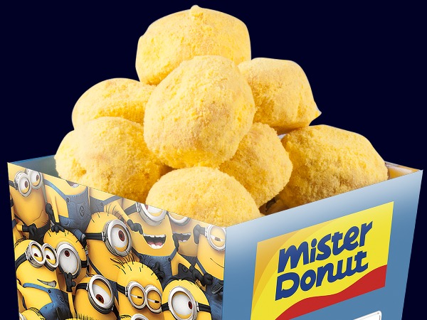 Mister Donut Minions Despicable Me