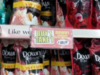 Robinsons Supermarket Downy Buy 1 Take 1 Big