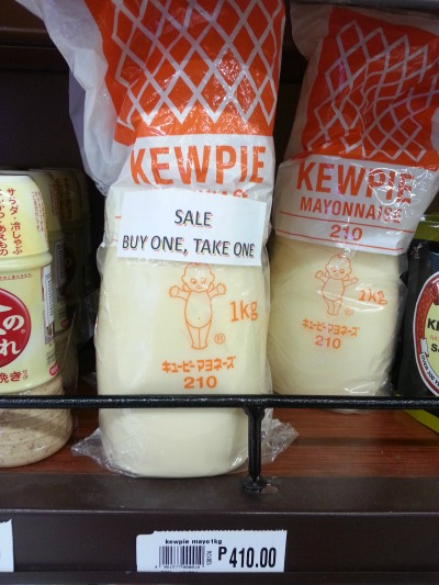 Robinsons Supermarket Kewpie Buy 1 Take 1