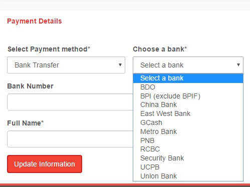 Shopback Cash Out Banks Philippines