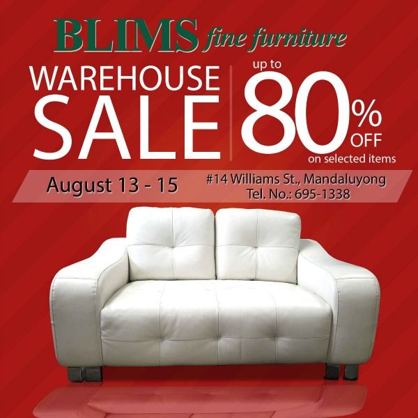 Furniture Sales This Weekend: Blim's Warehouse Sale Aug. 13
