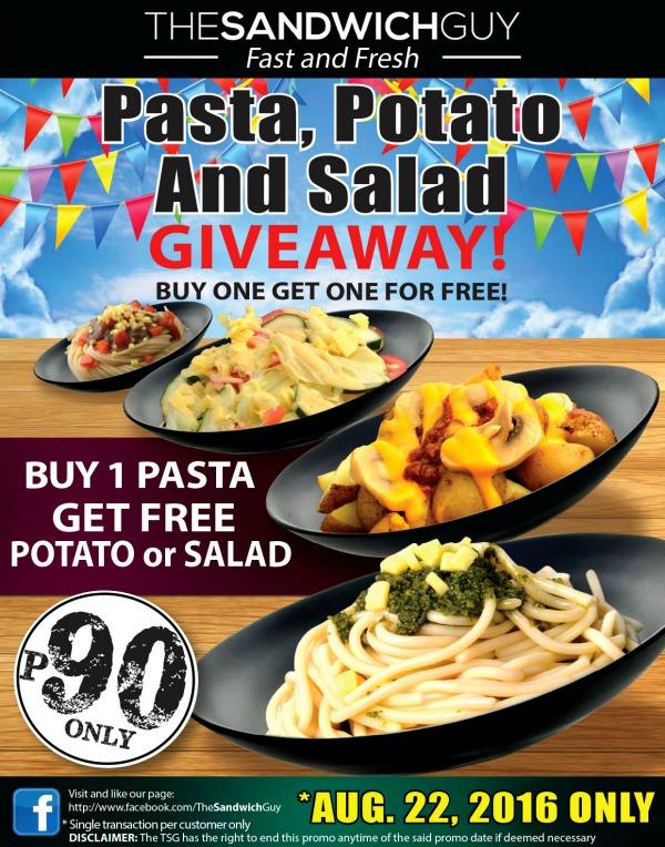 The Sandwich Guy Pasta Holiday Free Potato Salad Aug 22 Blog