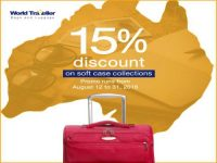 World Traveller Soft Case Luggage Sale Featured Image