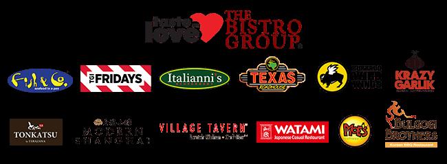 The Bistro Group Restaurant Logos