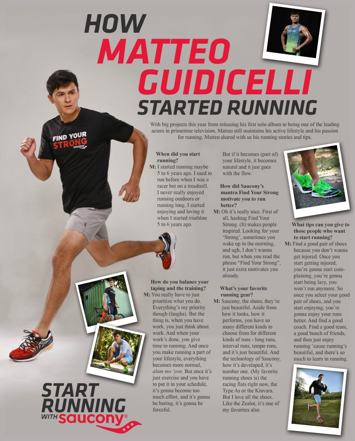 Saucony - How Matteo Guidicelli Started Running 2