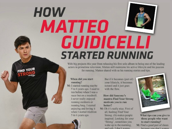 Saucony – Run with Matteo Guidicelli!