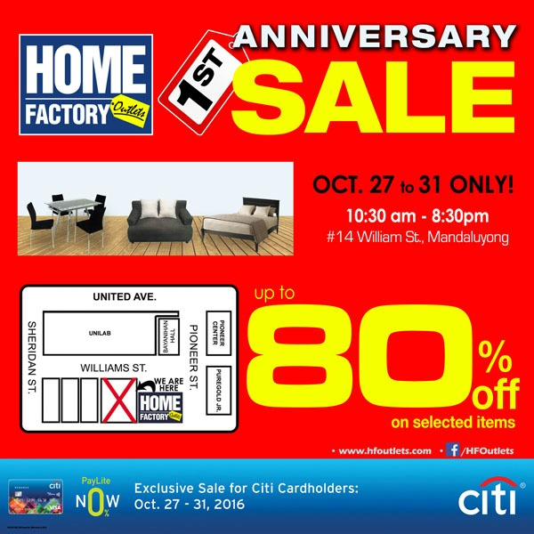 HFO Anniversary Sale
