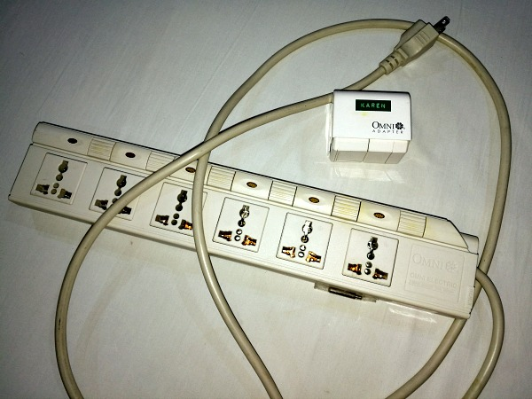 Omni Power Strip and Universal Adapter