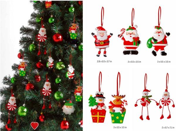 reinder-santa-snowman-decorations