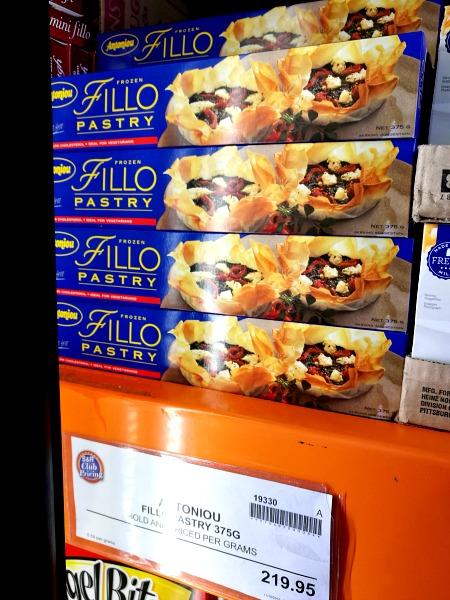 SnR Antoniou Fillo Phyllo Pastry