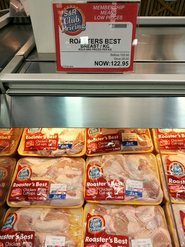 SnR Chicken Breast Promo