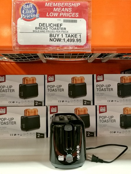 SnR Delichef Toaster B1T1