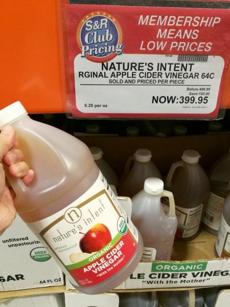 SnR Nature's Intent Apple Cider Vinegar