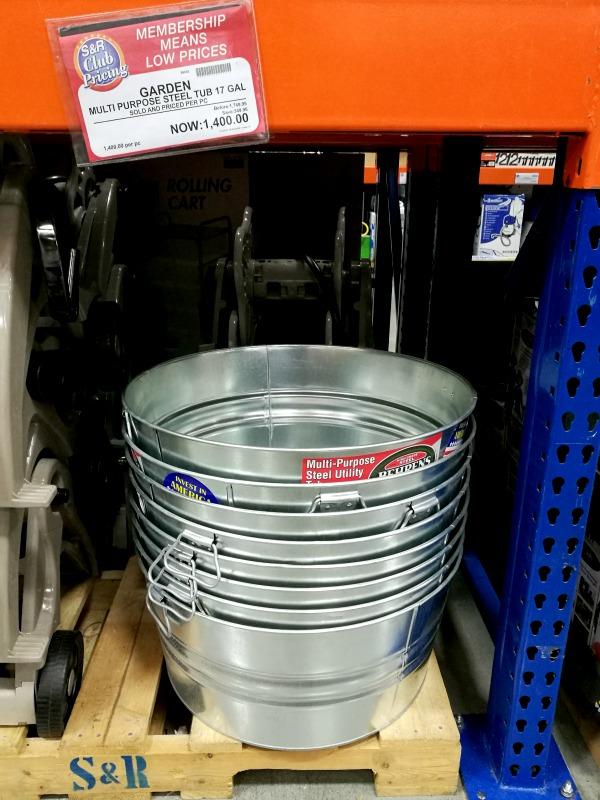 SnR Steel Tubs