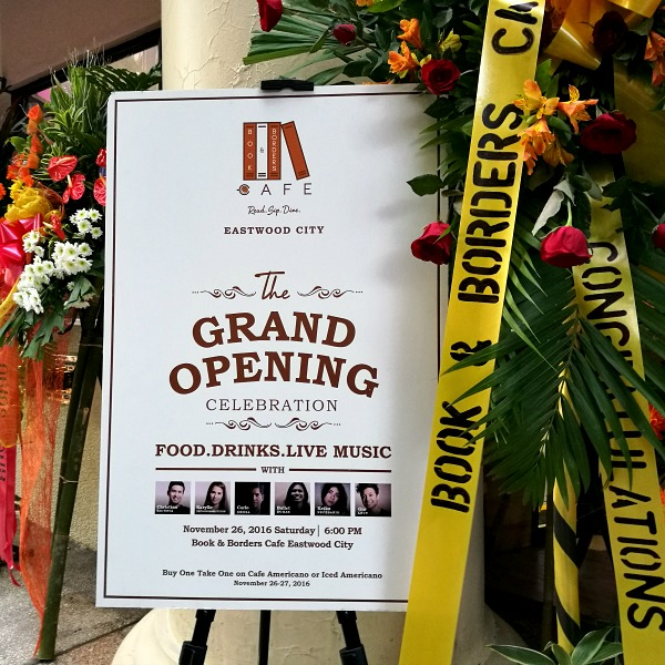 Book and Borders Eastwood Grand Opening