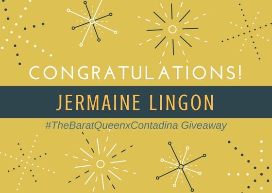 Jermaine Lingon Contadina Winner
