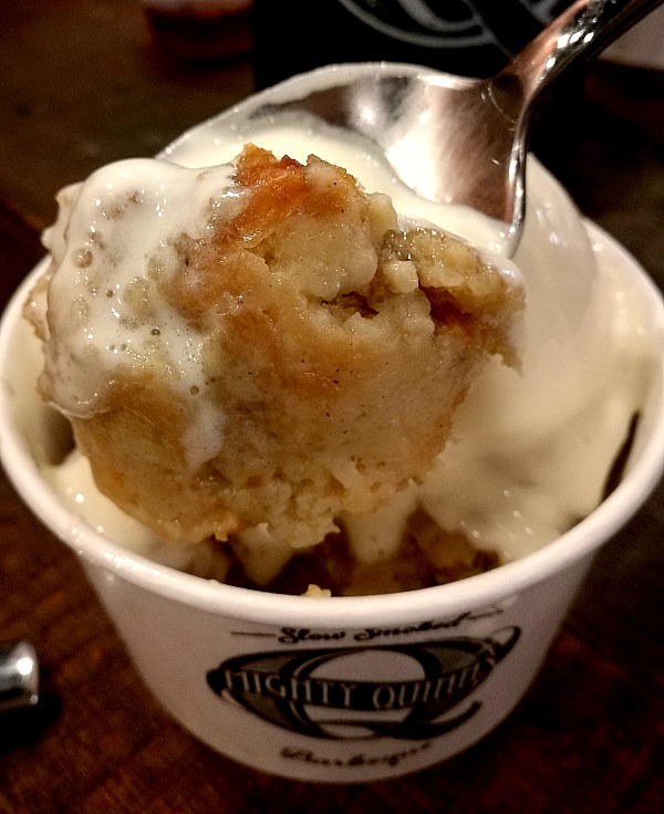 Mighty Quinn's Bread Pudding