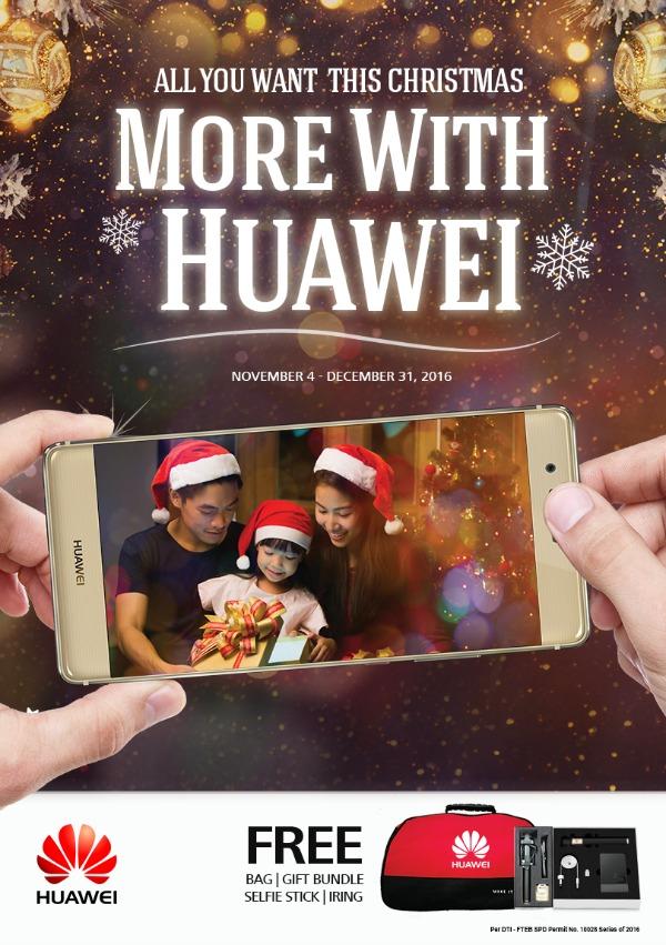 Huawei Christmas Promos 2016