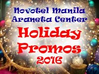 Novotel Holiday 2016 Promos