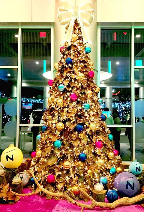 Novotel Manila Christmas Tree 2016