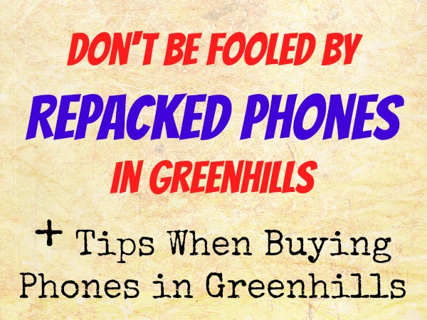 Repacked Phones Greenhills