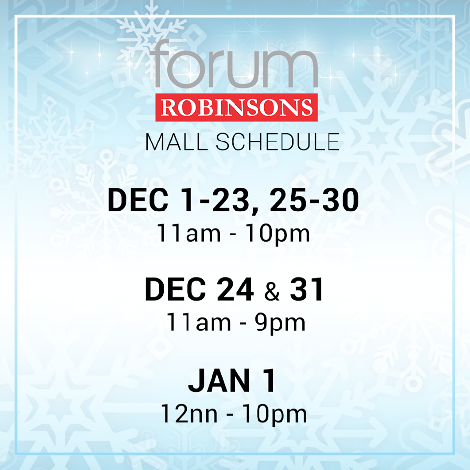 robisons-forum-pioneer-mall-hours-2016
